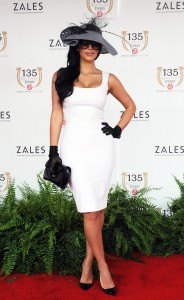 Celebrities at Kentucky Derby