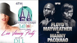 Kentuckyderby Mayweather Pacquiao