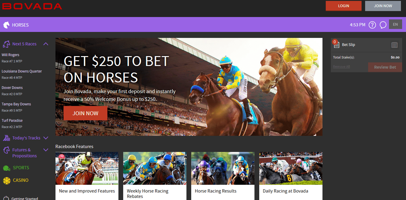 Horse gambling sports guide online ca caesars indiana hotel and casino